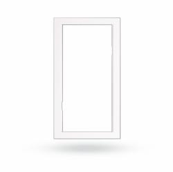 JA-193PL-F-M-W Rámeček k držáku PIR - střední, bílý
